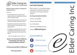 Eldercaring, your partner in health aging